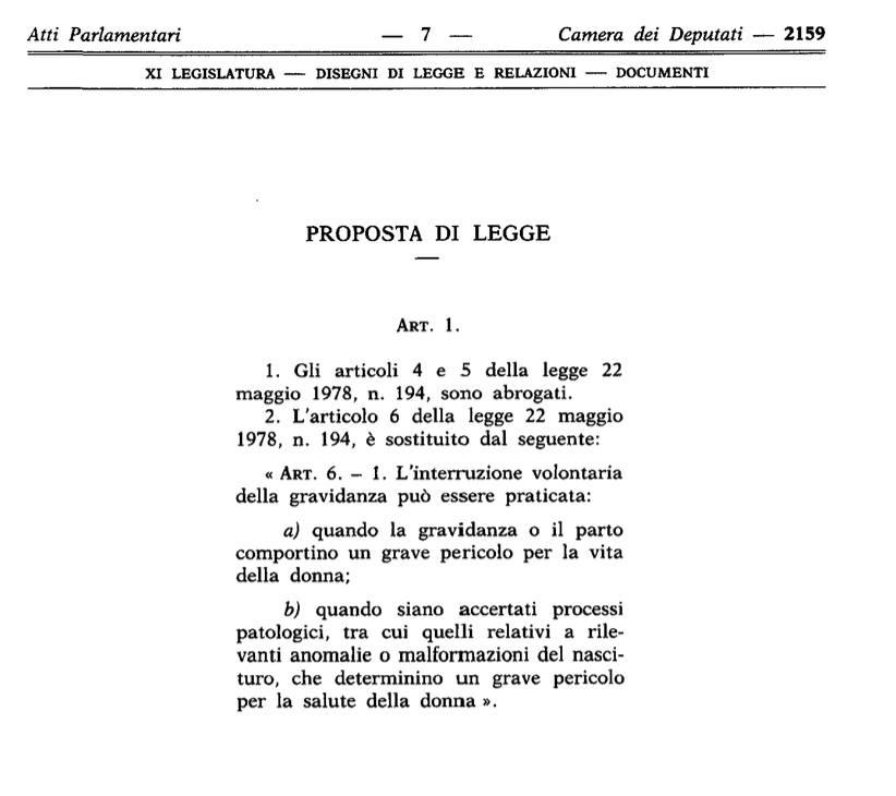 proposte di legge mattarella