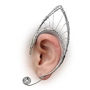 orecchini d'argento grandi