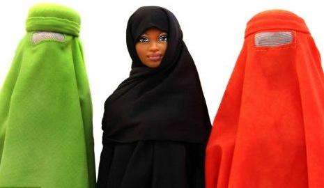 Barbie burqa mussulmana