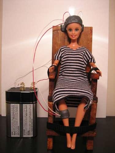 barbie sedia elettrica