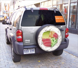 all you can eat sushi car