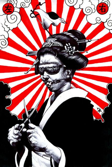 geisha porn otomo