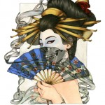 zoe lacchei geisha5