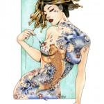 zoe lacchei geisha 7