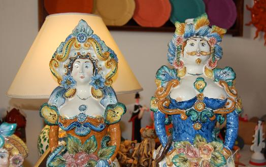 bambole ceramica grottaglie