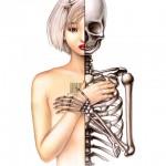 Trevor Brown Skeleton Girl