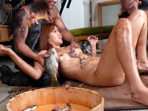 Sex porn fish lady with