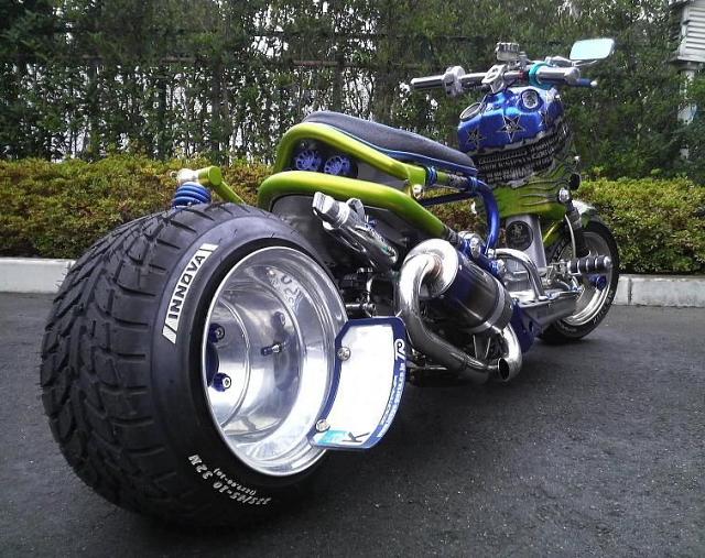 bosozoku scooter