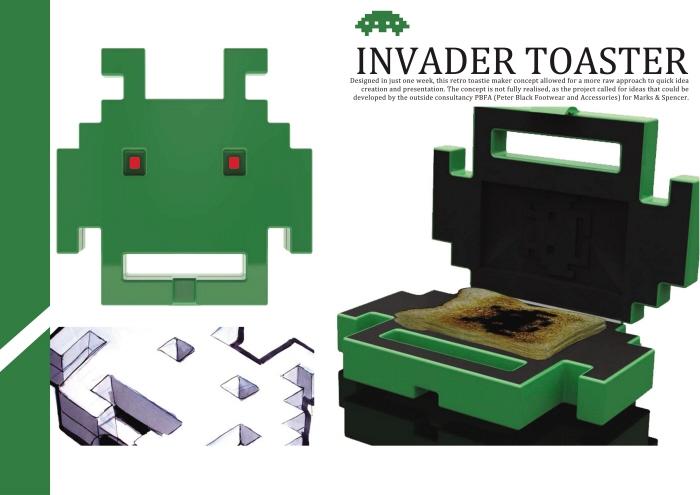 Invader Toast