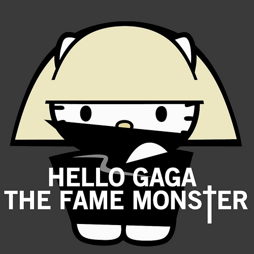 hello gaga the fame monster