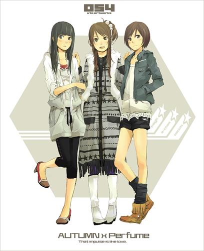 perfume-manga-style bonsuraku brigade
