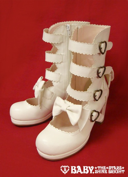scarpe lolita gotica
