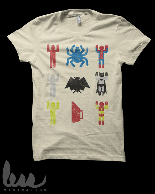 t shirt batman spiderman