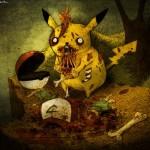 Pikachu zombie