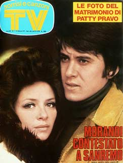 1972 copertina sorrisi gianni morandi