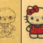hello kitty skull