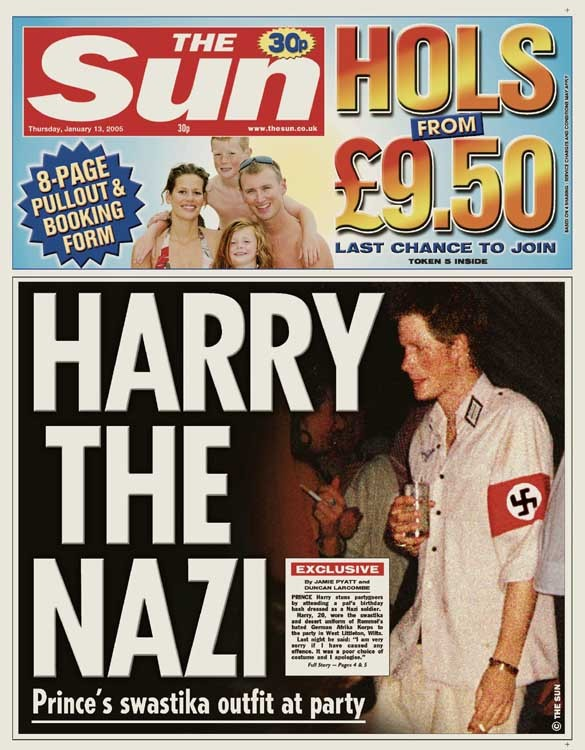 prince harry the nazi