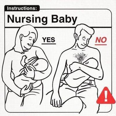 allattare un neonato