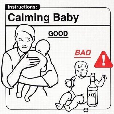 calmare un neonato