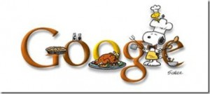 google doodle snoopy