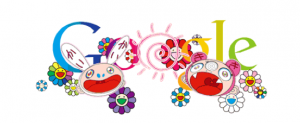 google doodle murakami