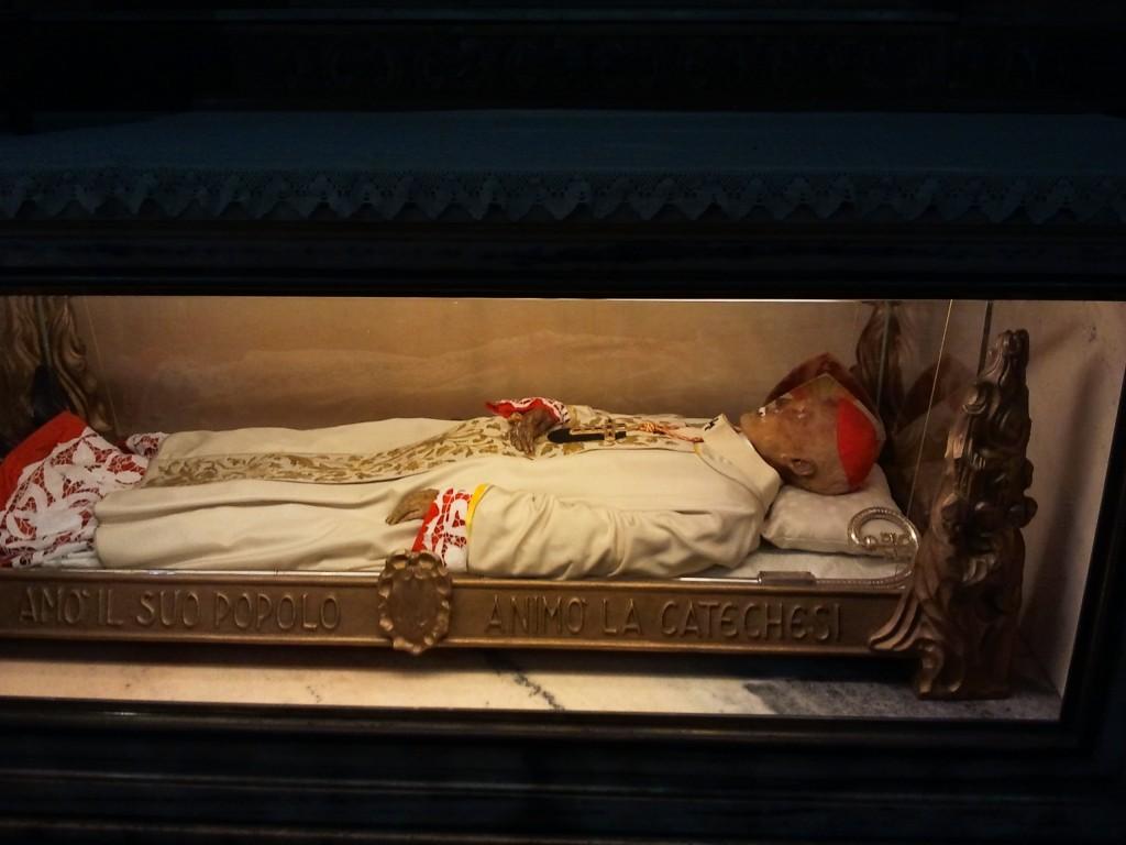 Mummie nel Duomo di Milano