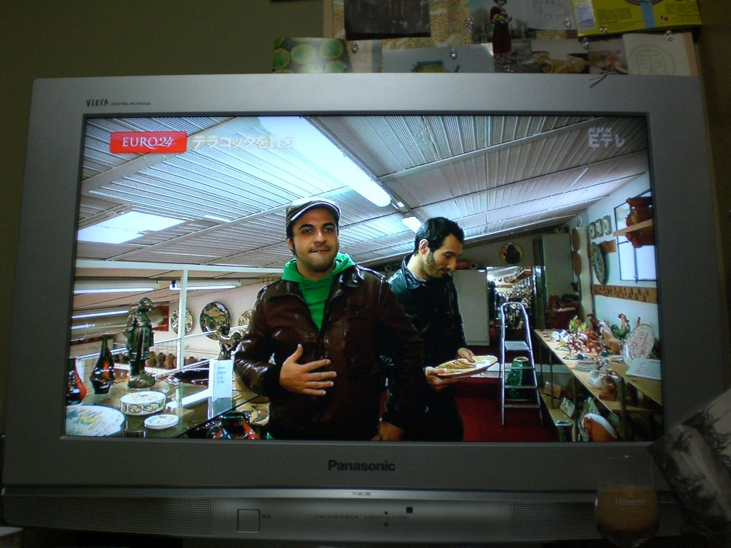 テレビでイタリア語 terebi de itaria go