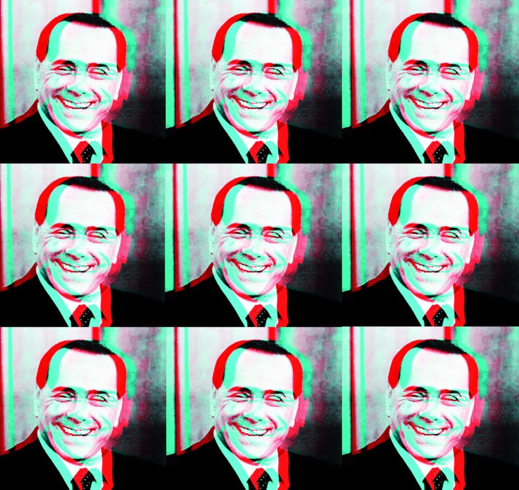 Silvio berlusconi paint