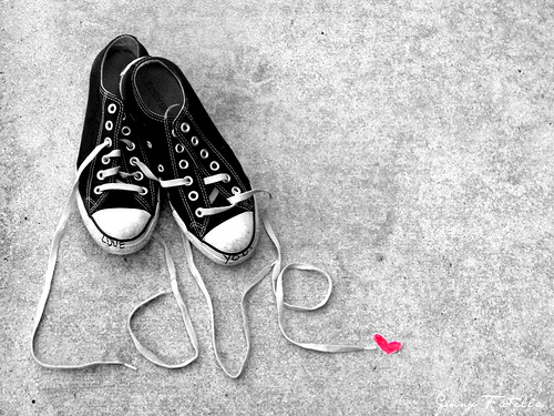converse all star heart
