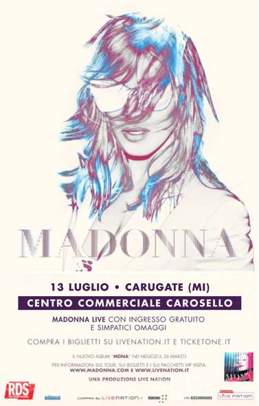mdna madonna poster italia