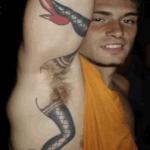 tatuaggio figa pelosa