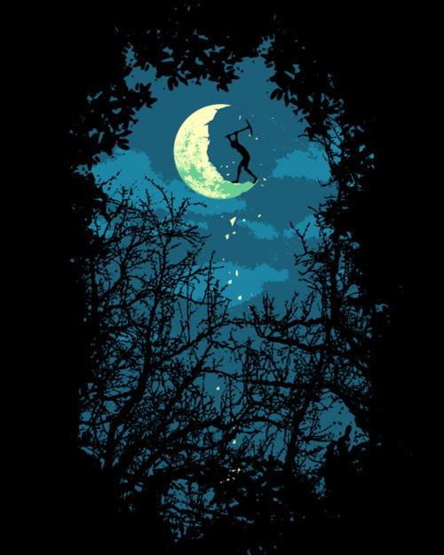 spicchio di luna