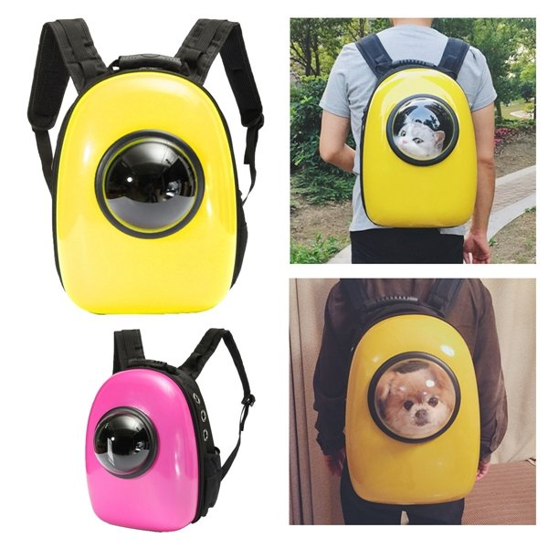 Dog Cat Pet Astronaut Capsule Backpack