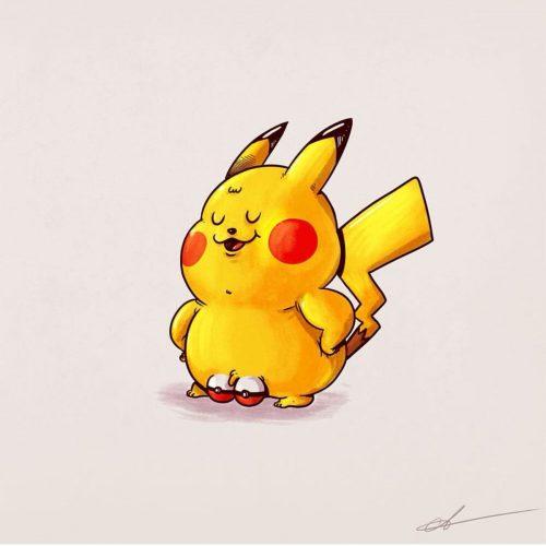 Alex solis pikachu