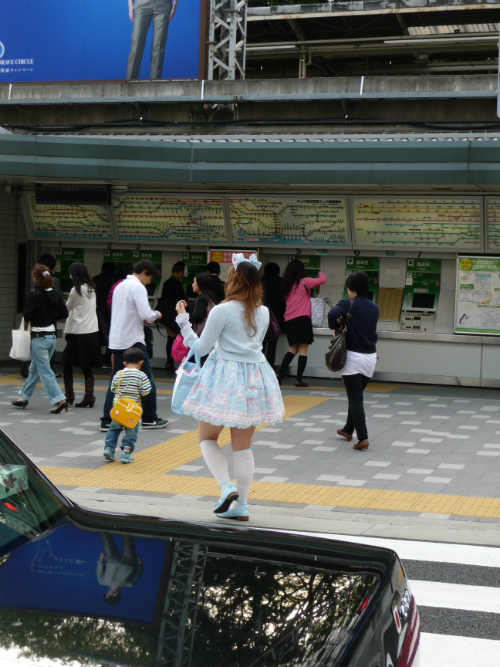 Harajuku style lolita