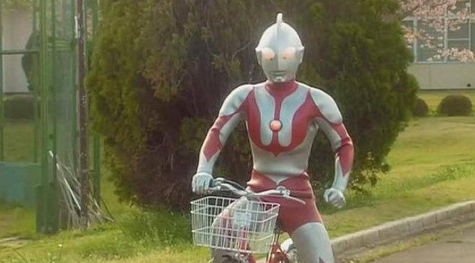 ultraman bicycle