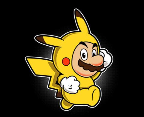 pikachu supermario