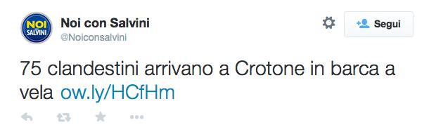 Noi con Salvini twitter
