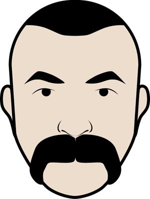 baffoni moustache