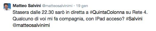 Salvini twitter 2