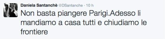 Santanchè tweet