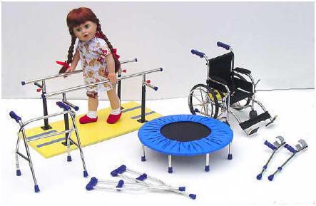 bambola tetraplegica