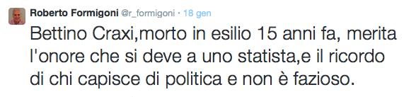 formigoni twitter