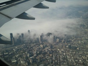 Godzilla attack Tokyo