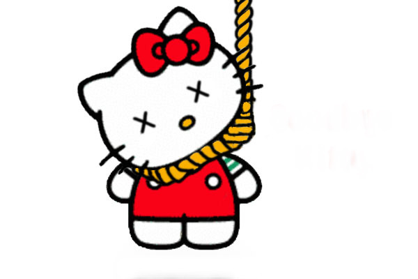 hello kitty suicide