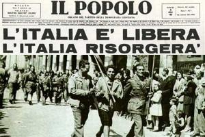 25 aprile 1945 giornali