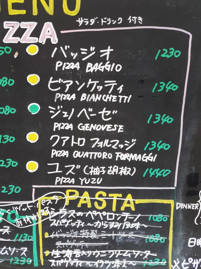 errori menù italiani