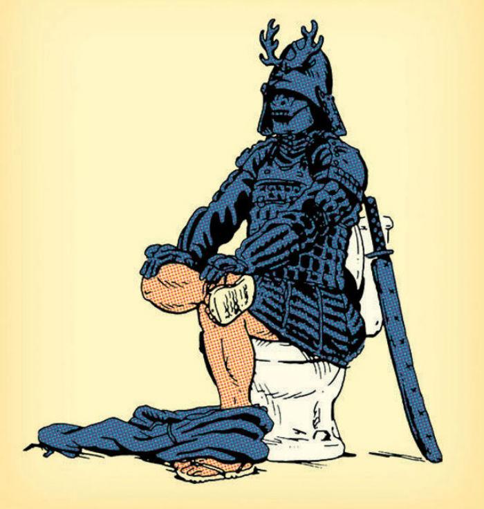 samurai toilet