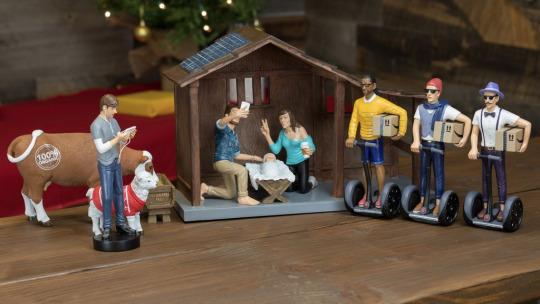 nativity hipster