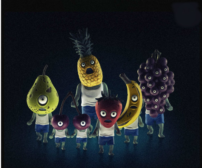 zombie fruits